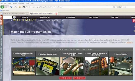 Wal mart internal business processes
