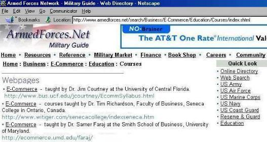 http://www.armedforces.net/search/Business/E-Commerce/Education/Courses/index.shtml